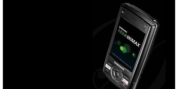 Samsung präsentiert erstes WiMax-Handy