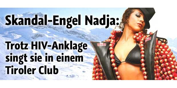 Skandal-Engel Nadja in Ischgl