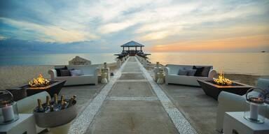 Luxus unter karibischen Palmen