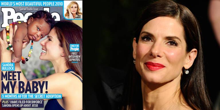Sandra Bullock süßes Baby adoptiert