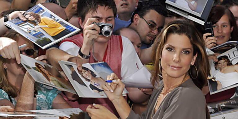 Sandra Bullock trumpft auf