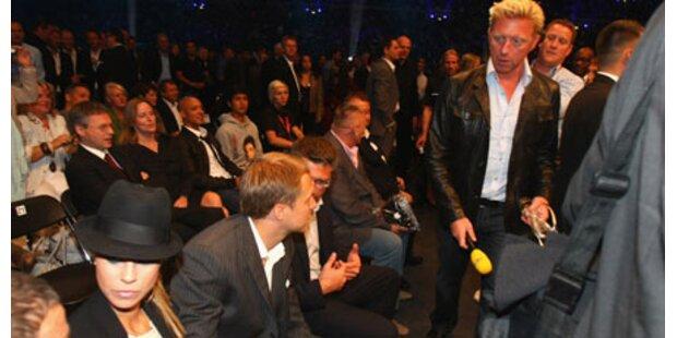 Sandy vs. Boris: Begegnung am Boxring