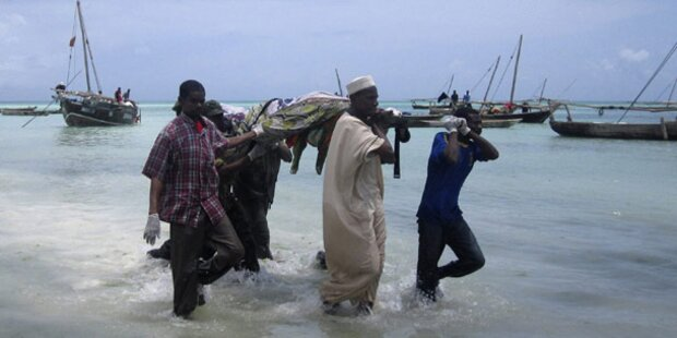 Schweres Fährunglück vor Sansibar