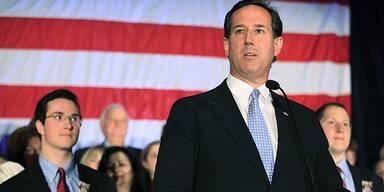 US-Wahl: Santorum gibt auf
