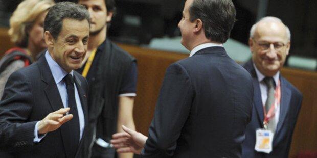 Sarkozy verweigert Cameron Händedruck