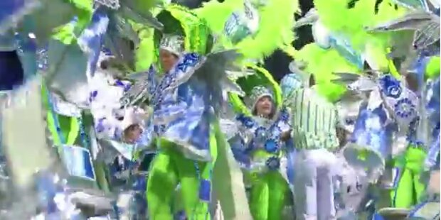 Karneval in Rio: Samba die ganze Nacht