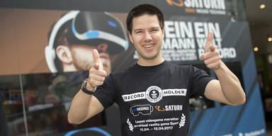 Österreicher knackt VR-Weltrekord