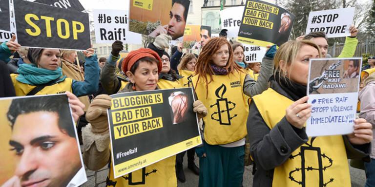Saudi-Blogger wird wieder ausgepeitscht