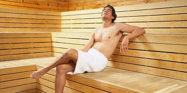 So machen Sie sich in der Sauna unbeliebt