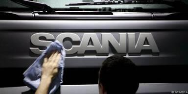 Scania erhöht Produktionsrate