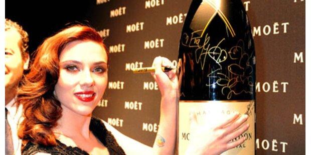 Scarlett trank schon mit 11 Champagner