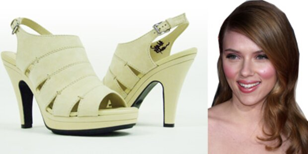 Scarlett Johansson spendet ihre Schuhe