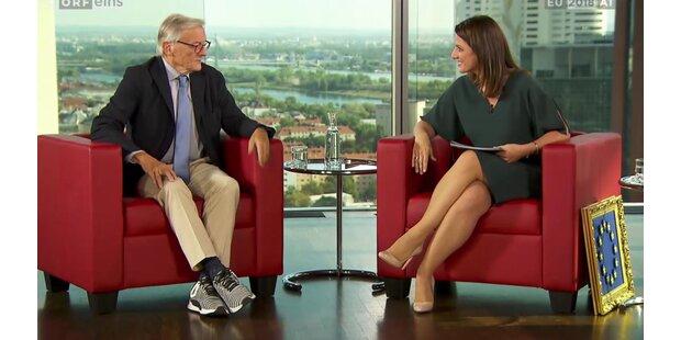 Netz diskutiert über Schüssel-Schuhe