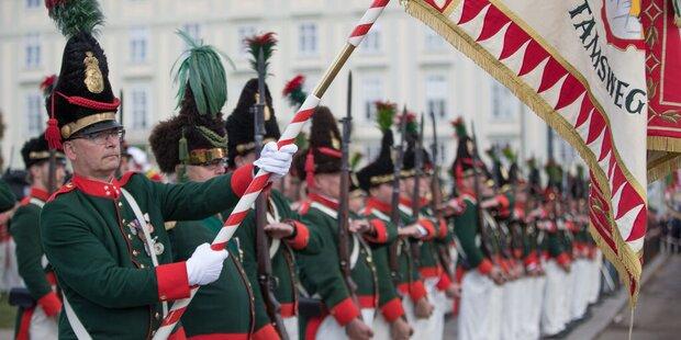 Salzburger Schützen in Wien