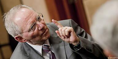 Schäuble will Finanzmärkte stärker regulieren