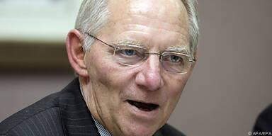 Schäuble will Sicherung der Finanzmarktstabilität