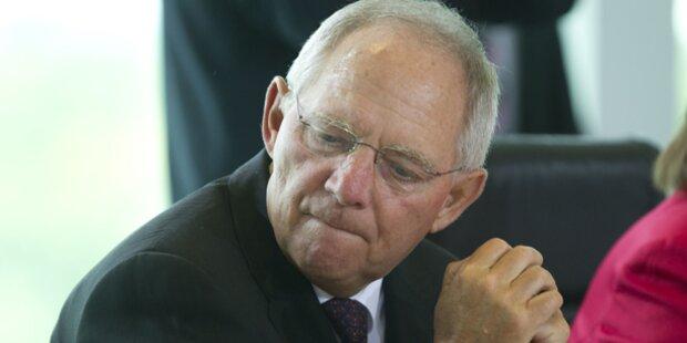 Schäuble will Spanien unter Aufsicht stellen