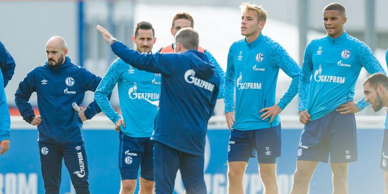 Jetzt kracht's! Trainingsabbruch bei Schalke 04