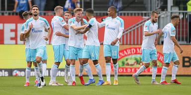 Schalke feiert ersten Sieg in 2. Liga