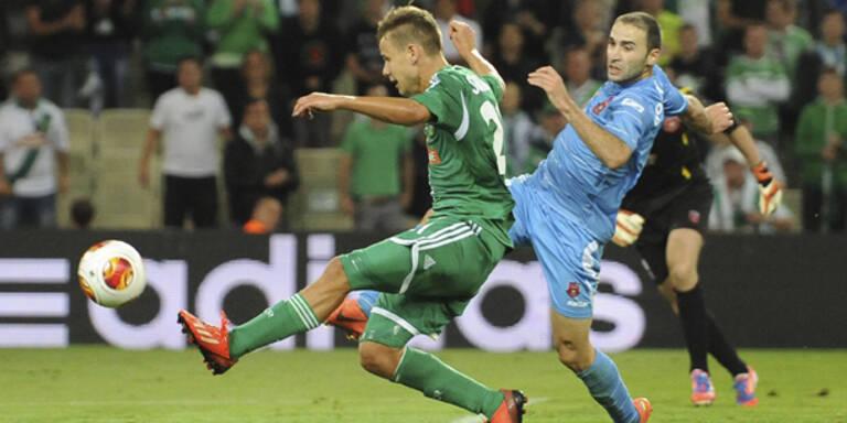 Rapid: Mühevoller 1:0-Erfolg gegen Dila Gori