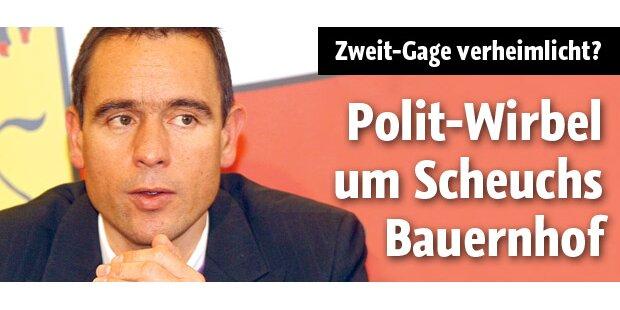 Scheuchs Bauernhof sorgt für Polit-Wirbel
