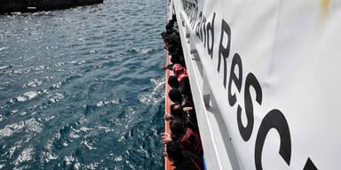 Schiff Aquarius Flüchtlinge