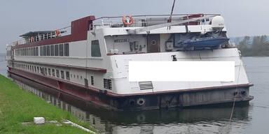 Mann wollte in Wien-Döbling vertautes Passagierschiff losmachen