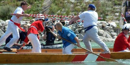 Flußfest und Schifferstechen