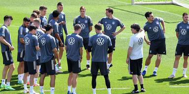 Deutschland mit Trainings-Verbot in Wembley