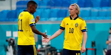 Schweden plant gegen Ukraine Viertelfinal-Coup