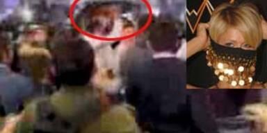 Massenschlägerei um Paris Hilton