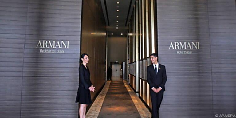 Schlichte Eröffnung für Armanis Hotel in Dubai