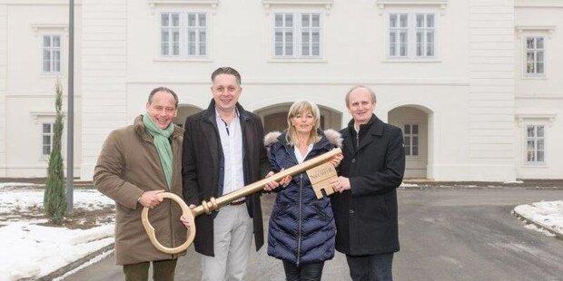 Schloss Neusiedl ist bezugsfertig