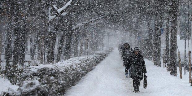 Extreme Kälte: Bulgarien stoppt Stromexport