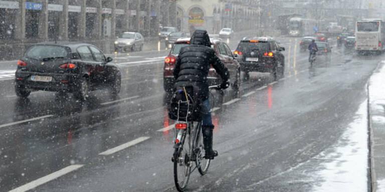Die nächste Schneefront zieht über Österreich