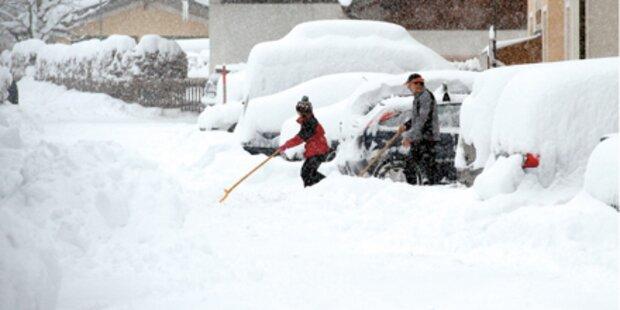 Schnee-Rekord im Dezember