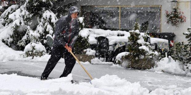 Schnee hat Westösterreich im Griff