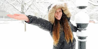 Wintereinbruch: Wo der erste Schnee fällt