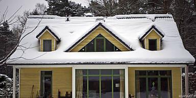 Schnee räumen und Eiszapfen entfernen