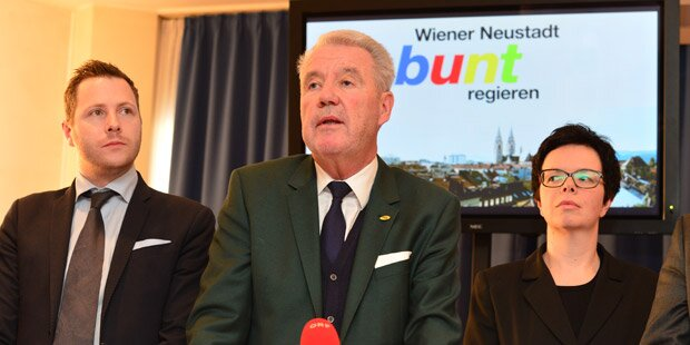 Wr. Neustadt: ÖVP regiert mit FPÖ und Grünen