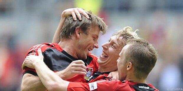 Abschiedsspiel für Bernd Schneider in Leverkusen