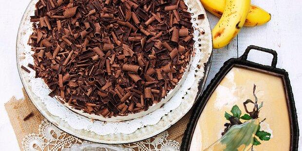 Schokolade trifft auf Banane