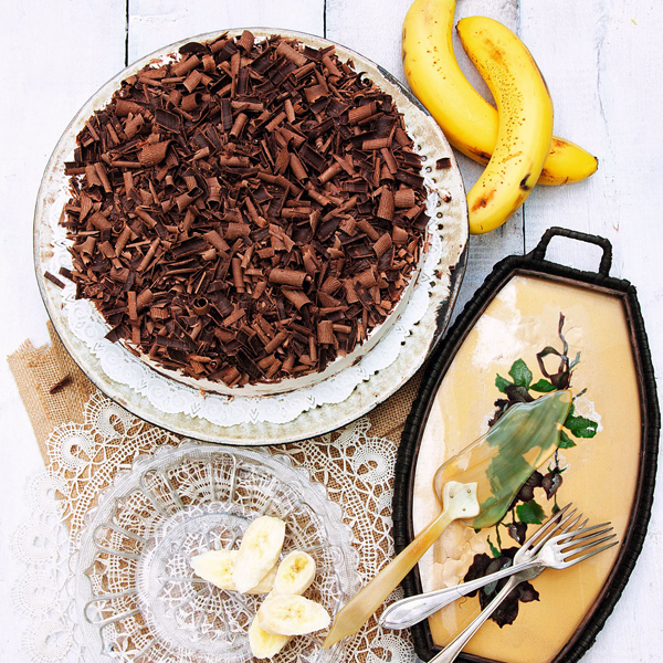 Schokolade Banane