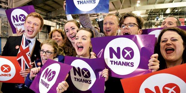 Schottland: England und Europa atmen auf