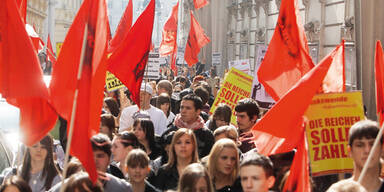 Steuer-Reform: Immer mehr für Streik