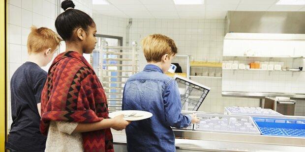 Gesundes Schul-Essen: Wien auf Platz 1