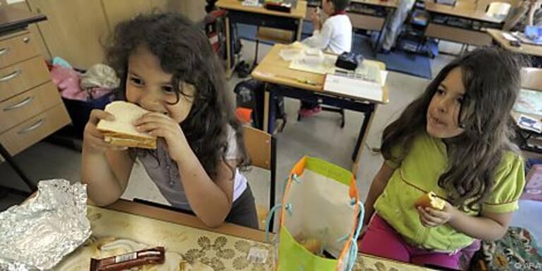 Schulkinder brauchen drei Hauptmahlzeiten