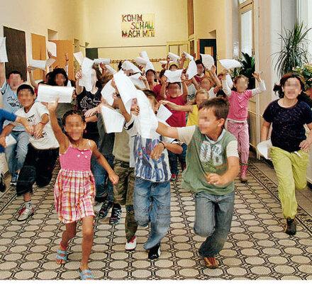 14.750 Kids haben einen Fleck