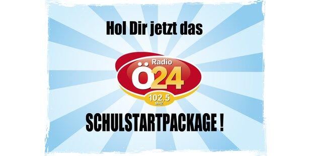 Das Radio Ö24 SCHULSTARTPACKAGE!
