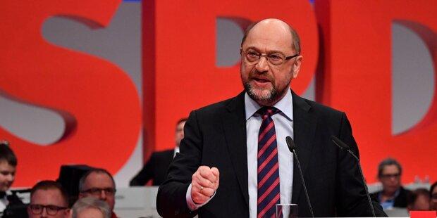 GroKo-Streit in SPD: Dämpfer für Schulz